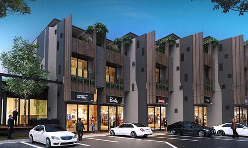 อาคารพาณิชย์ Urban Myx
